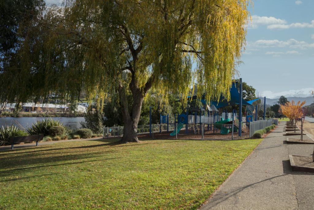 Huonville playground and picnic area
