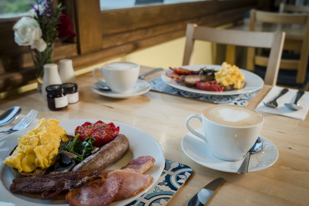 Fully Cooked Breakfast at Ashdowns of Dover
